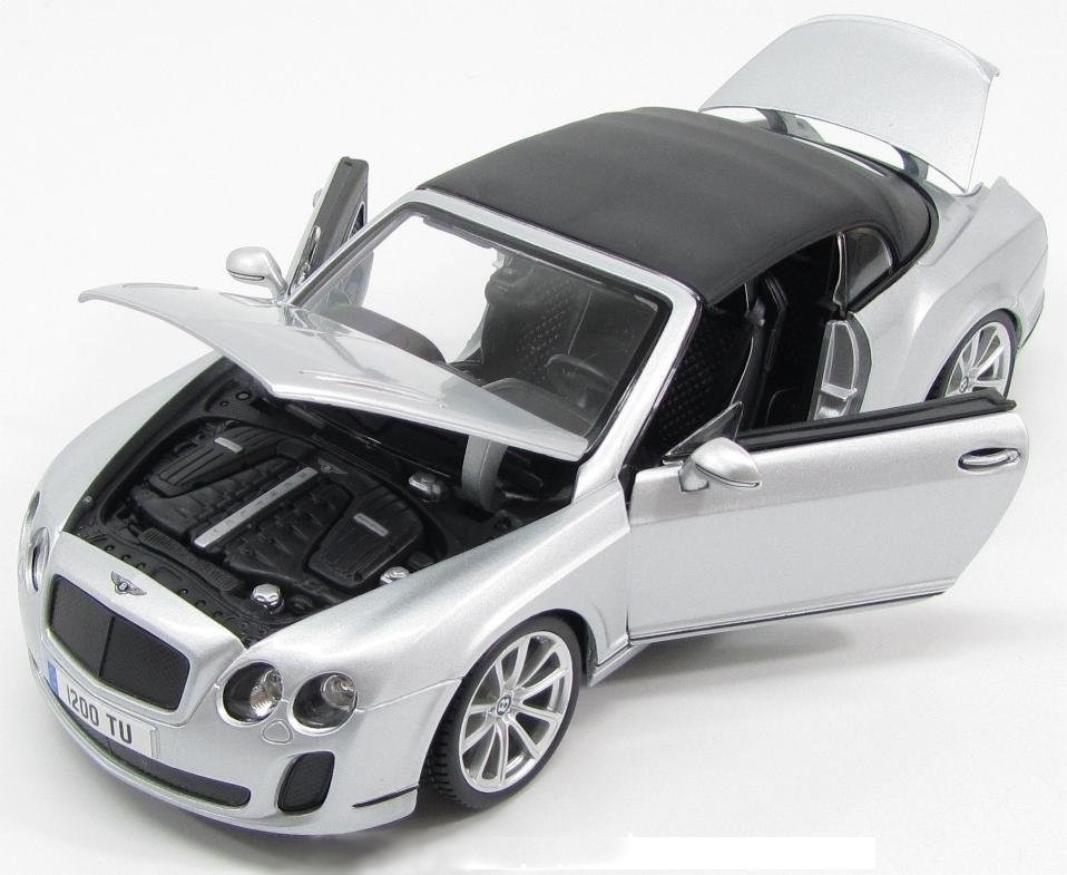 Burago - Bentley Continental Supersports Convertible  - Hobby Lobby CollectorStore