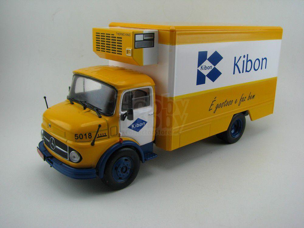 Coleção Caminhões Brasileiros - Mercedes 1113 (Kibon)  - Ed.01