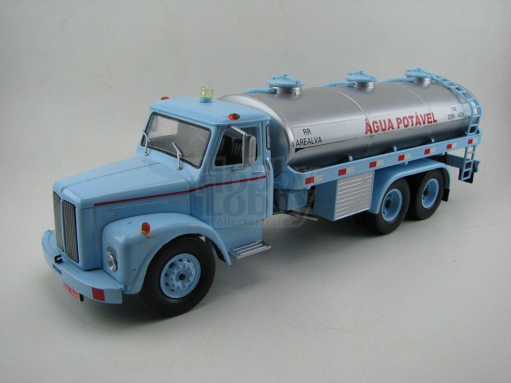 Coleção Caminhões Brasileiros - Scania Vabis LS 85 - Ed.02