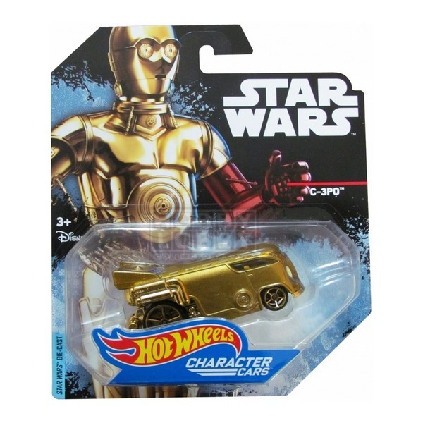 Hot Wheels - Caracter Cars - C-3PO  - Hobby Lobby CollectorStore