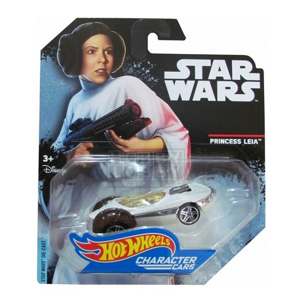 Hot Wheels - Caracter Cars - Princess Leia