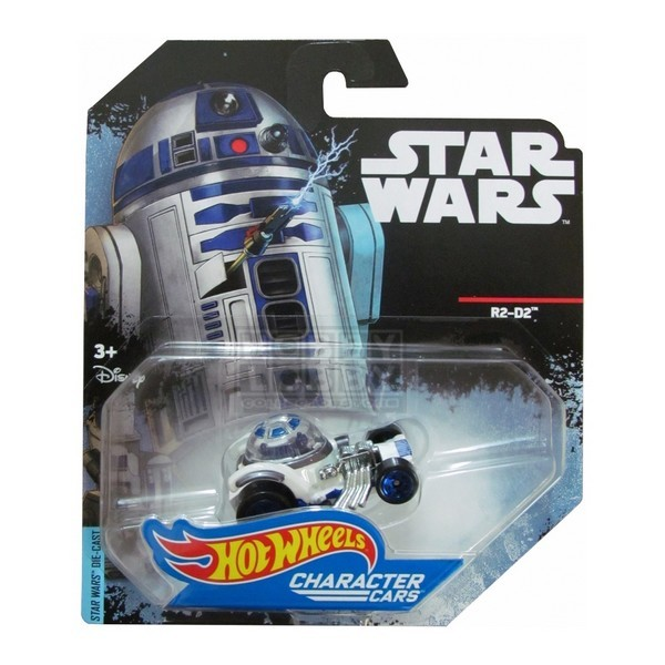 Hot Wheels - Caracter Cars - R2-D2