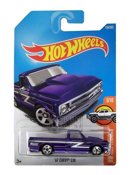 Hot Wheels - Coleção 2017 - ´67 Chevy C10  - Hobby Lobby CollectorStore