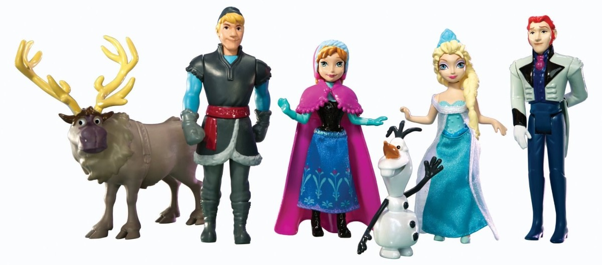 Disney Frozen - Playset 6 personagens do filme - Mattel  - Hobby Lobby CollectorStore
