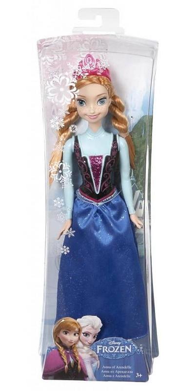 Disney Frozen - Princesa Anna Brilhante - Mattel  - Hobby Lobby CollectorStore