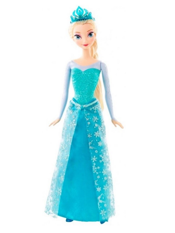 Disney Frozen - Princesa Elsa Brilhante - Mattel