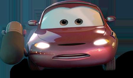 Disney Pixar - Cars - Andrea  - Hobby Lobby CollectorStore