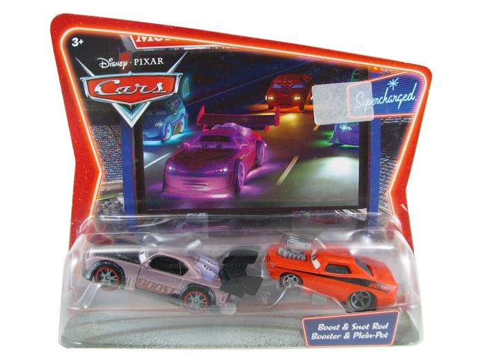Disney Pixar - Cars - Boost & Snot Rod - Booster & Plain-Pot