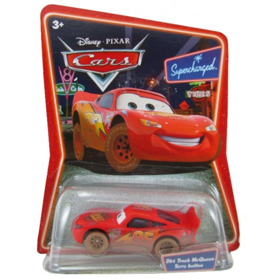 Disney Pixar - Cars - Dirt Track Lightning McQueen