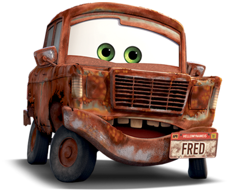 Disney Pixar - Cars - Fred  - Hobby Lobby CollectorStore