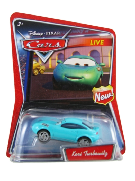 Disney Pixar - Cars - Kori Turbowitg  - Hobby Lobby CollectorStore