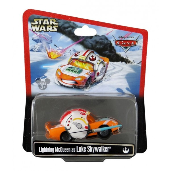 Disney Pixar - Cars - Star Wars - Lightning McQueen as Luke Skywalker