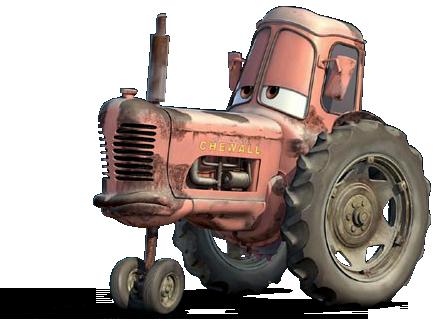 Disney Pixar - Cars - Luigi, Guido & Tractor  - Hobby Lobby CollectorStore