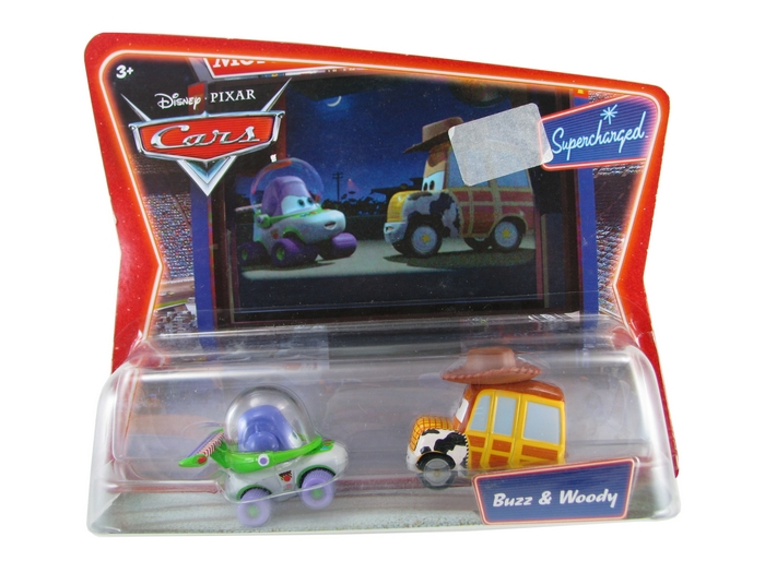 Disney Pixar - Cars - Movie Moments - Buzz & Woody