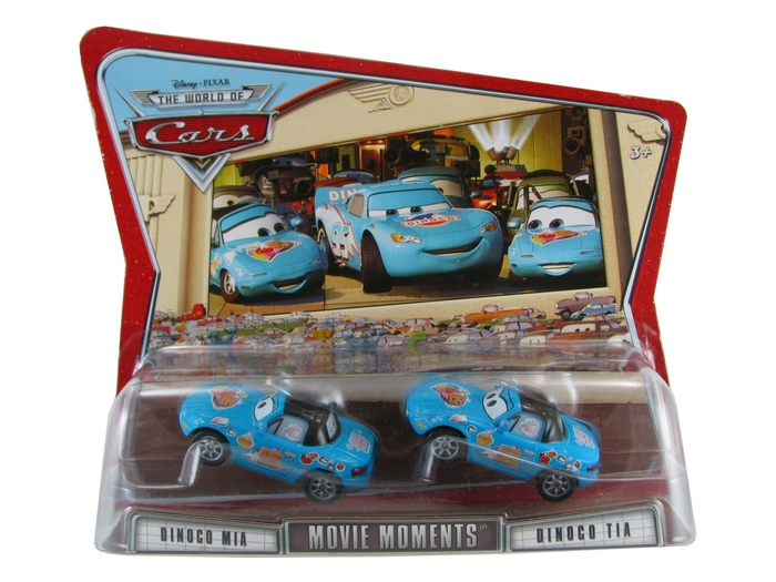 Disney Pixar - Cars - Movie Moments - Dinoco Mia & Dinoco Tia