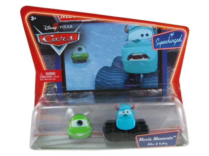 Disney Pixar - Cars - Movie Moments - Mike & Sulley  - Hobby Lobby CollectorStore