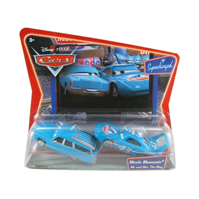 Disney Pixar - Cars - Mr. and Mrs, The King  - Hobby Lobby CollectorStore