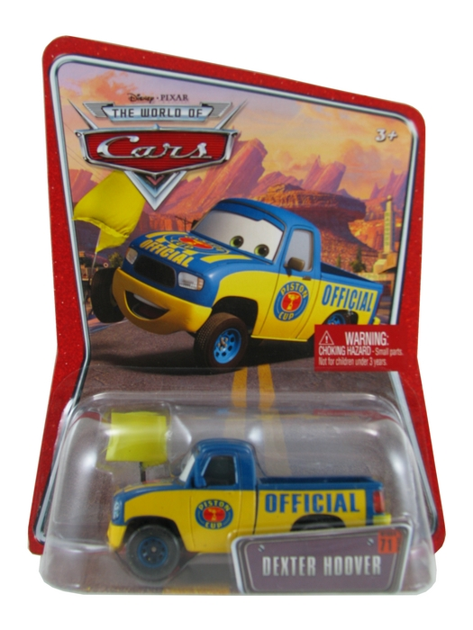 Disney Pixar - Cars - Racing Official - Dexter Hoover  - Hobby Lobby CollectorStore