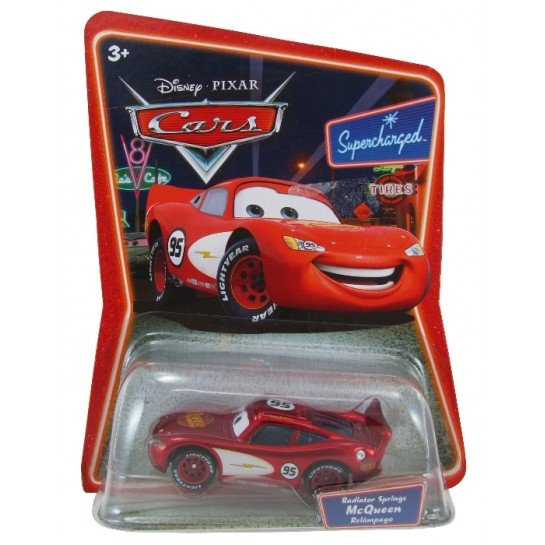 Disney Pixar - Cars - Radiator Springs Lightning McQueen  - Hobby Lobby CollectorStore