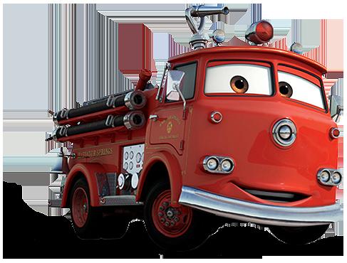 Disney Pixar - Cars - Red & Stanley  - Hobby Lobby CollectorStore