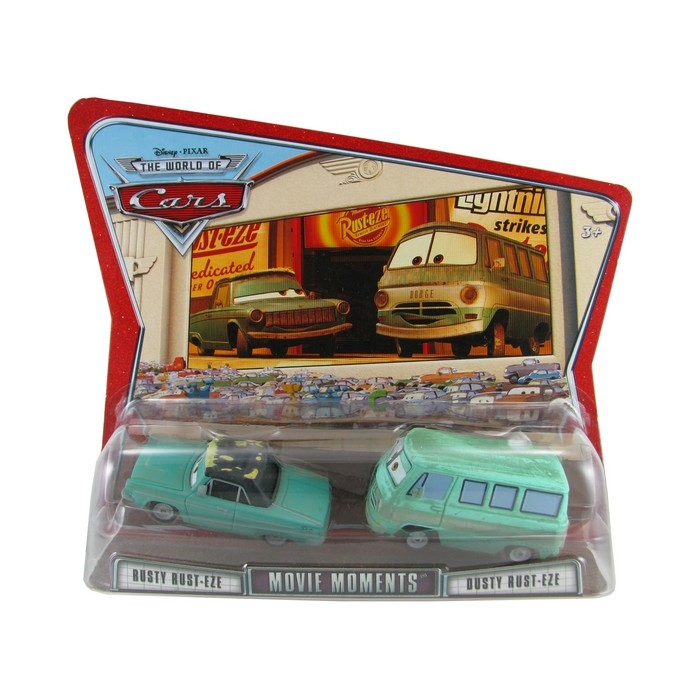 Disney Pixar - Cars - Rust Rust Eze & Dusty Rust Eze  - Hobby Lobby CollectorStore