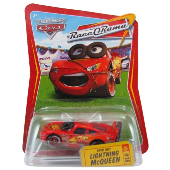 Disney Pixar - Cars - Spin Out Lightning McQueen