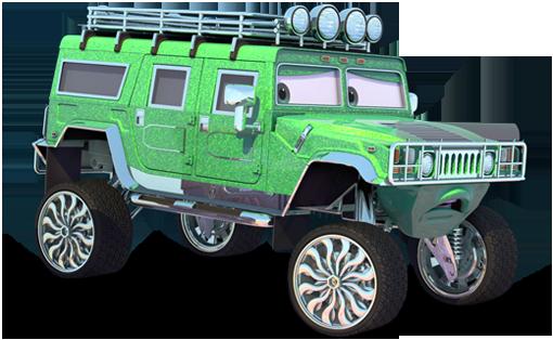 Disney Pixar - Cars - T.J.  - Hobby Lobby CollectorStore