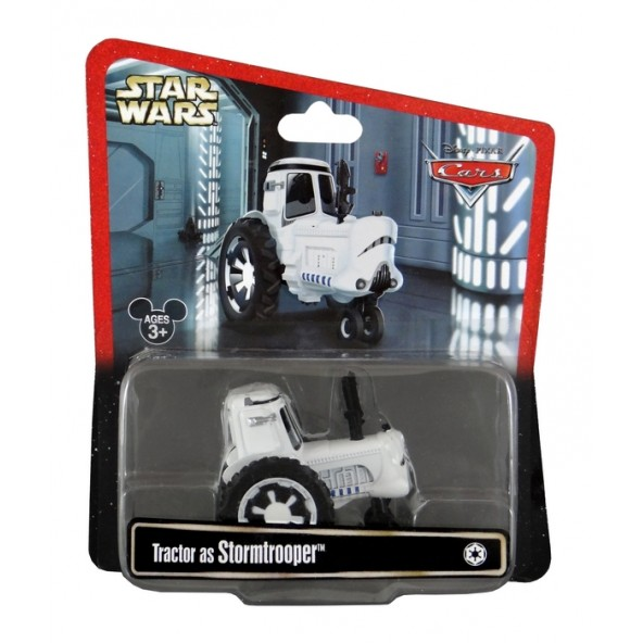 Disney Pixar - Cars - Star Wars - Tractor as Stormtrooper