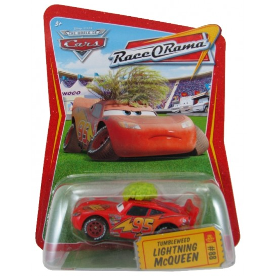 Disney Pixar - Cars - Tumbleweed Lightning McQueen  - Hobby Lobby CollectorStore