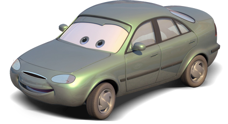 Disney Pixar - Cars - Valerie Veate  - Hobby Lobby CollectorStore