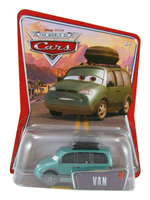Disney Pixar - Cars - Van  - Hobby Lobby CollectorStore