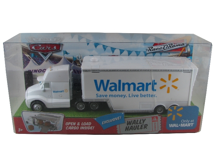 Disney Pixar - Cars - Wally Hauler - Wal-Mart  - Hobby Lobby CollectorStore