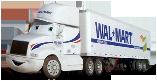Disney Pixar - Cars - Wally Hauler - Wal-Mart  - Hobby Lobby CollectorStore