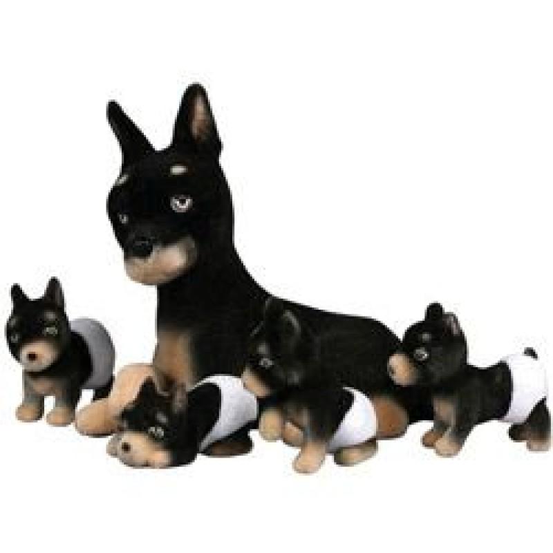 DTC - Filhotes Mania - Familia Dobermann  - Hobby Lobby CollectorStore