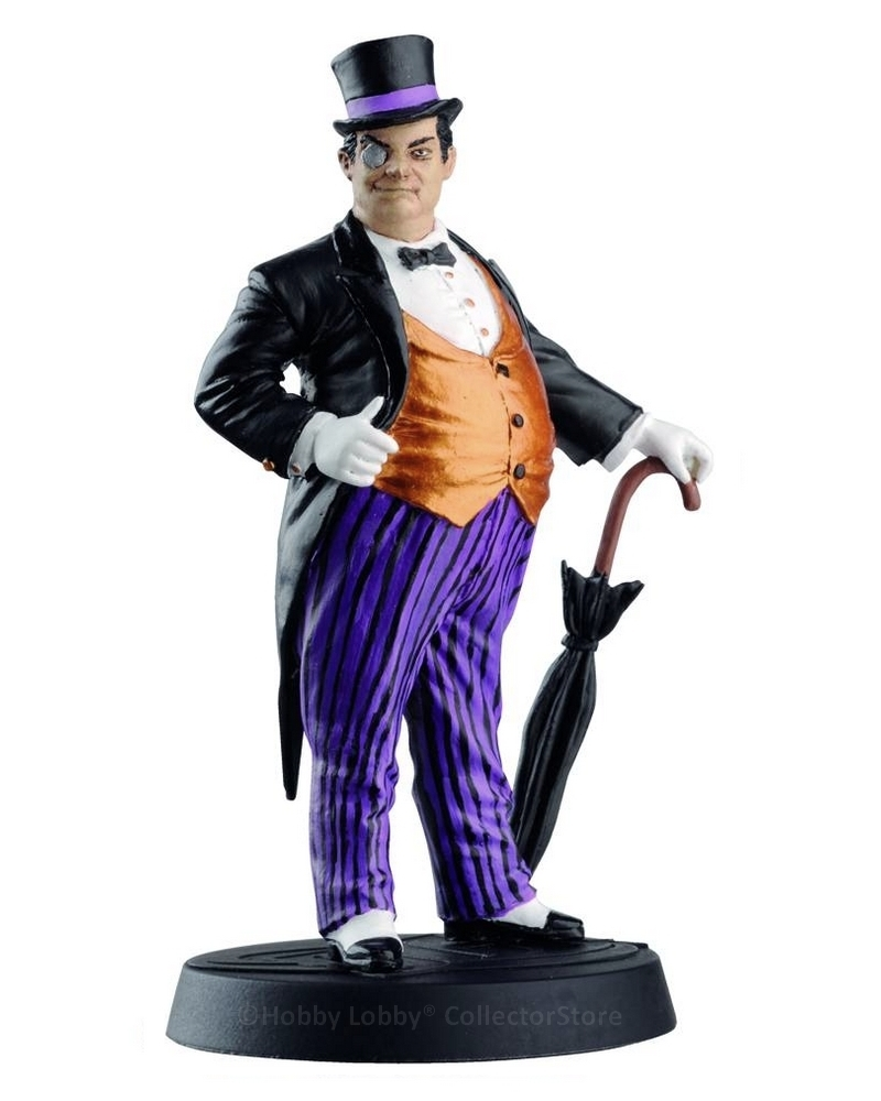 Eaglemoss - DC Comics - Pinguim  - Hobby Lobby CollectorStore