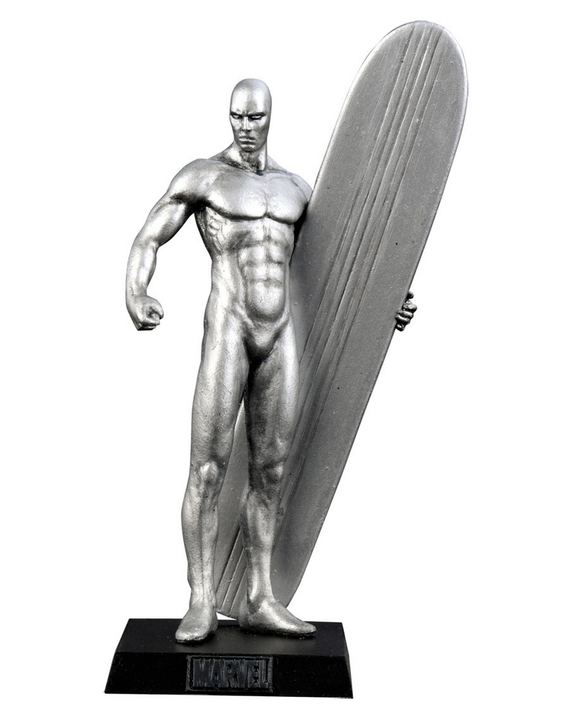 Eaglemoss - Marvel - Surfista Prateado