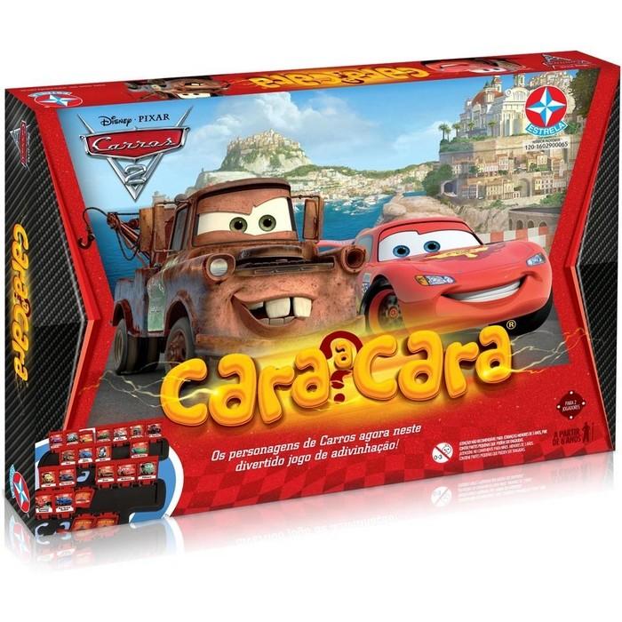 Estrela - Jogo Cara a Cara Carros 2 - Disney  - Hobby Lobby CollectorStore