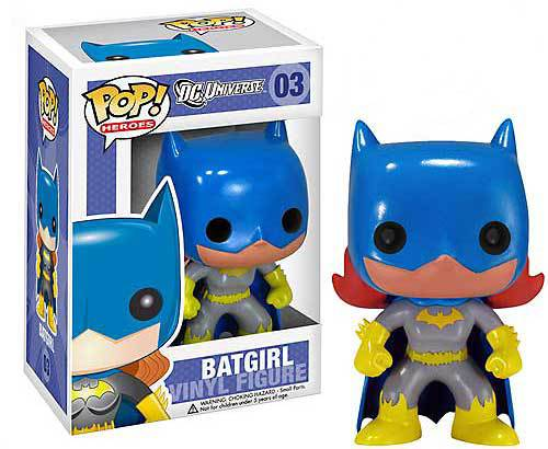 Funko POP - DC Universe - Batgirl  Figure #03  - Hobby Lobby CollectorStore