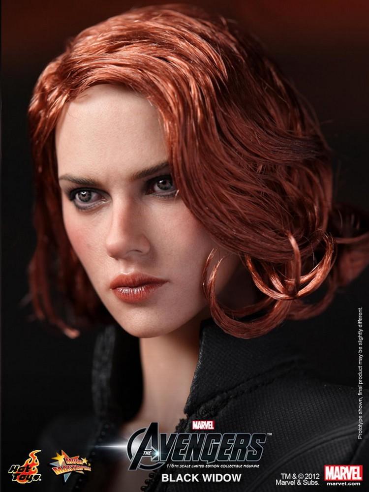 Hot Toys - The Avengers - Black Widow - Natasha Romanoff  - Hobby Lobby CollectorStore