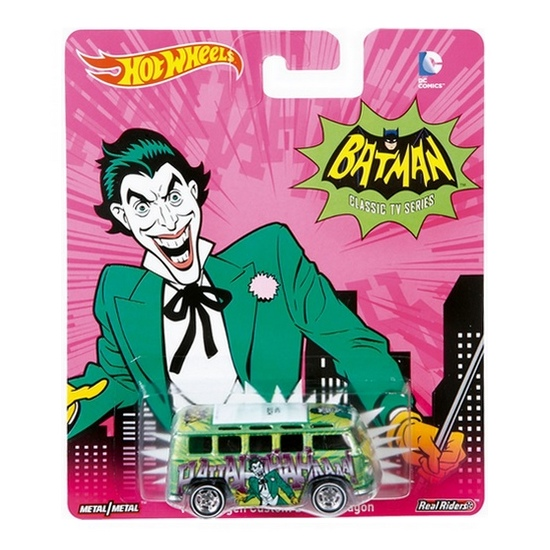 Hot Wheels - 2015 Pop Culture - DC Comics - Volkswagen Custom Wagon - Hobby Lobby CollectorStore