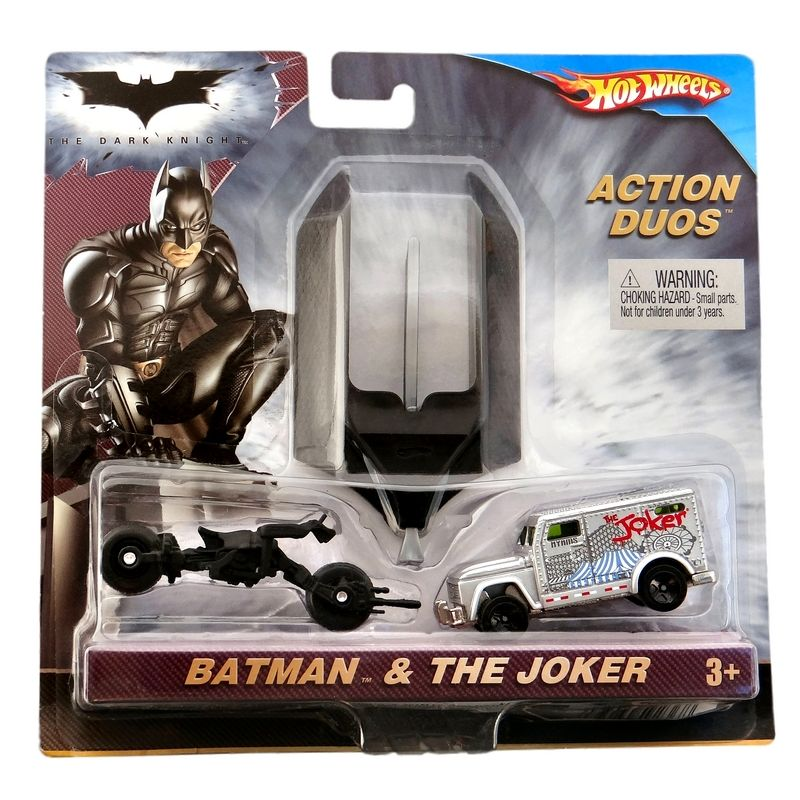 Hot Wheels - Action Duos - Batman & The Joker  - Hobby Lobby CollectorStore