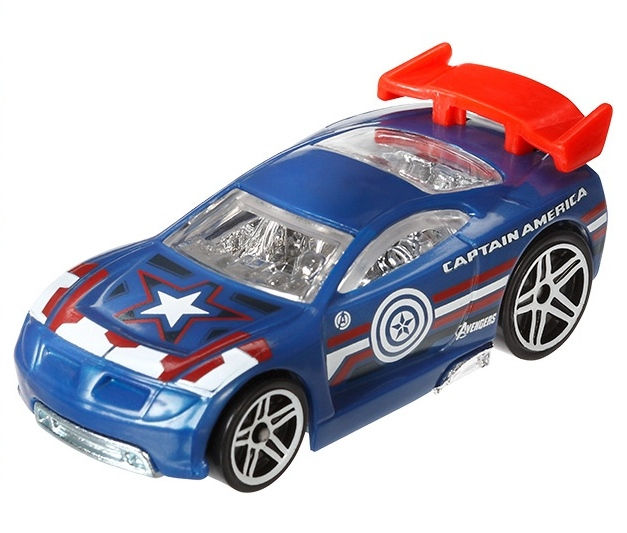 Hot Wheels - Avengers Age of Ultron - Captain America  - Hobby Lobby CollectorStore