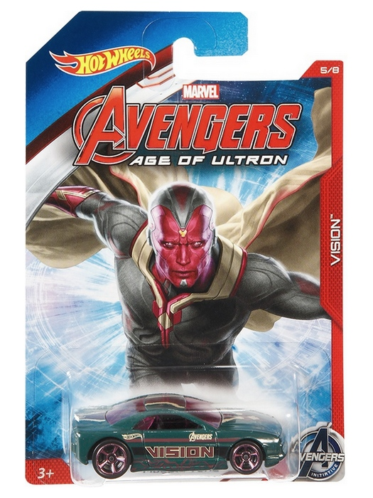 Hot Wheels - Avengers Age of Ultron - Vision  - Hobby Lobby CollectorStore