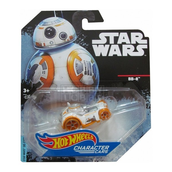 Hot Wheels - Caracter Cars - BB-8