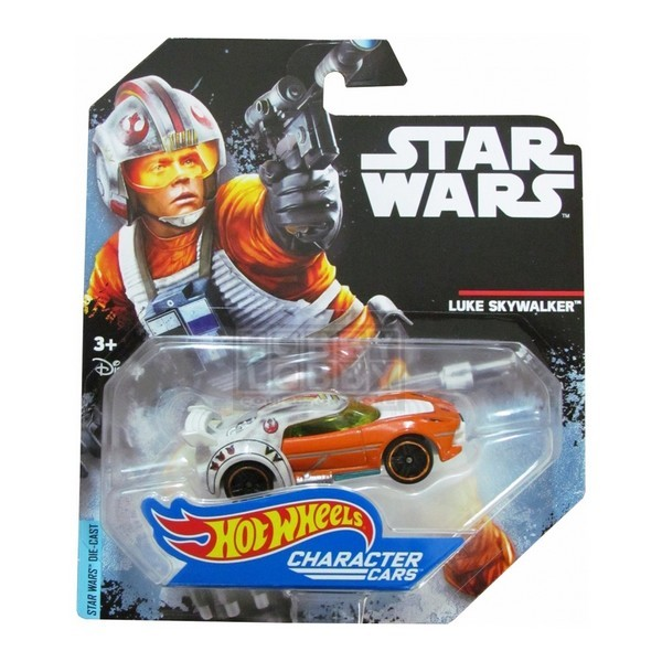 Hot Wheels - Caracter Cars - Luke Skywalker