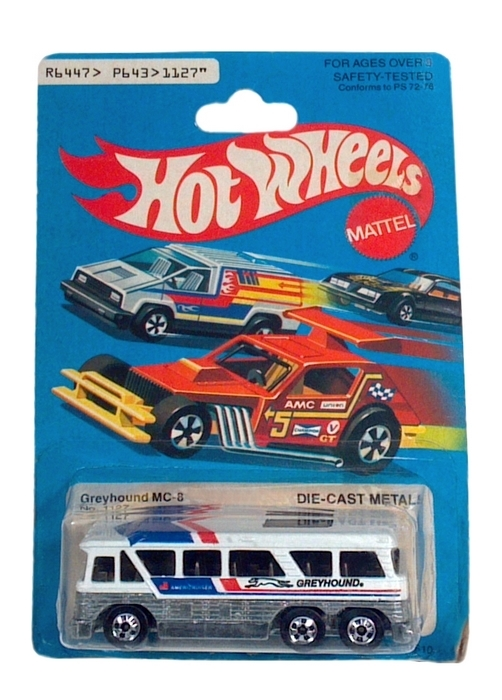 Hot Wheels - Coleção 1979 - Greyhound MC-8