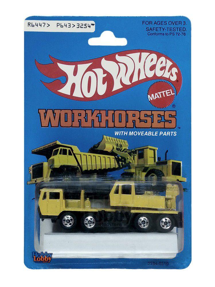 Hot Wheels - Coleção 1982 - Construction Crane