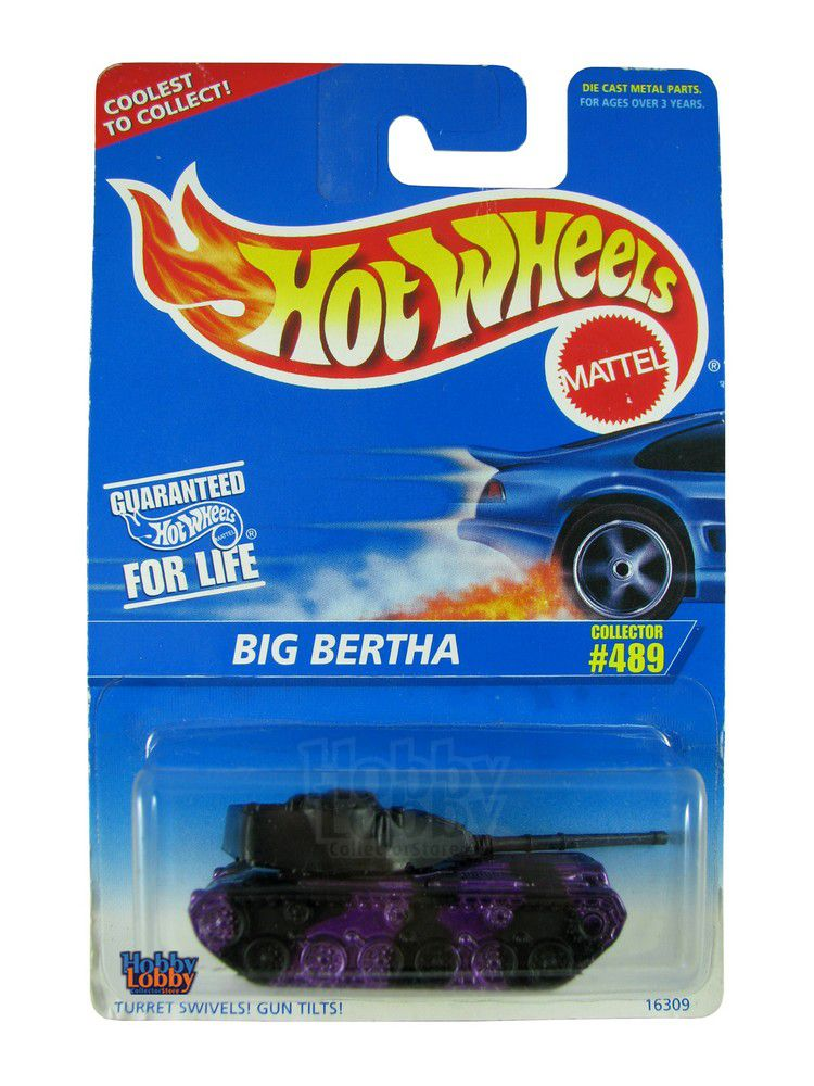 Hot Wheels - Coleção 1996 - Big Bertha  - Hobby Lobby CollectorStore