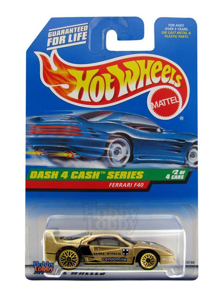 Hot Wheels - Coleção 1998 - Ferrari F40