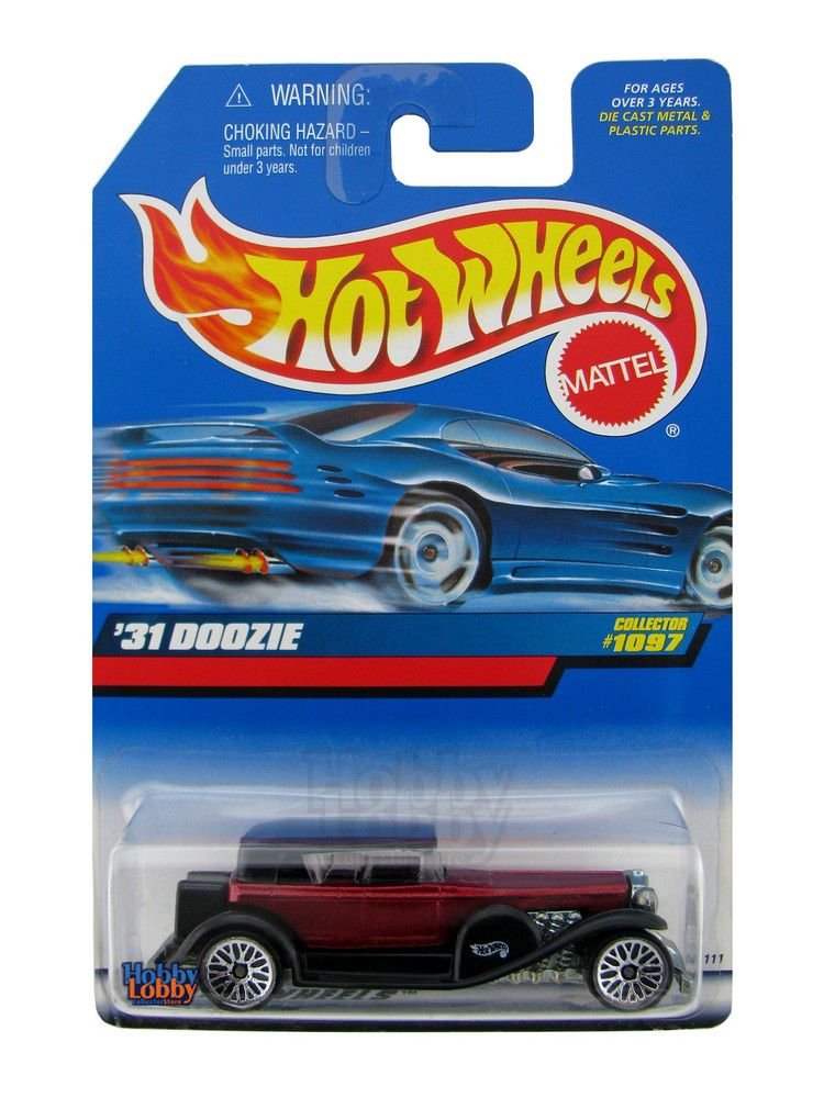 Hot Wheels - Coleção 1999 - ´31 Doozie